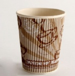 Fast Take Away High Quality Ripple Wall Paper Cups